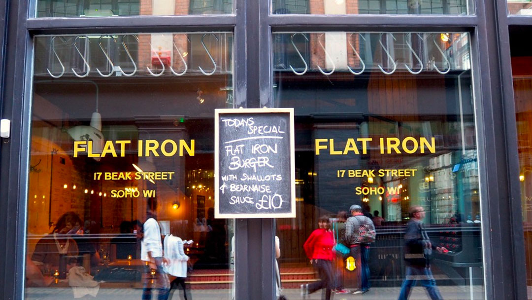 Best Flat Iron Restaurant London